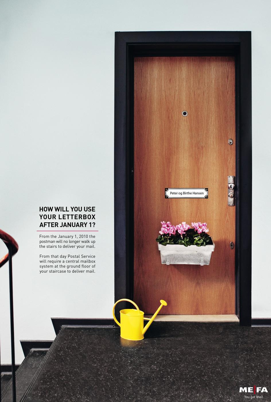MEFA Print Ad -  Flower Box