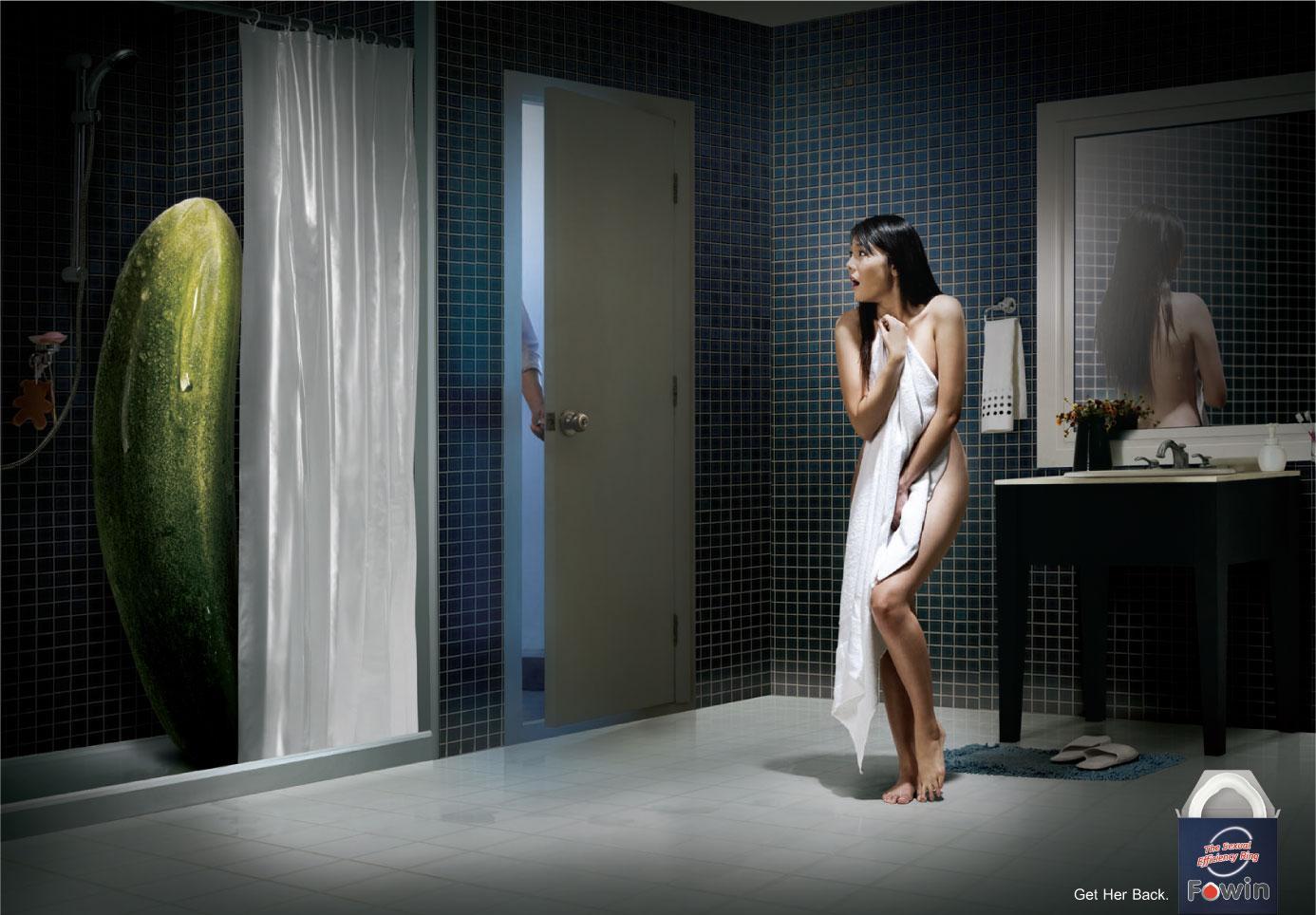Fowin Print Ad -  Cucumber
