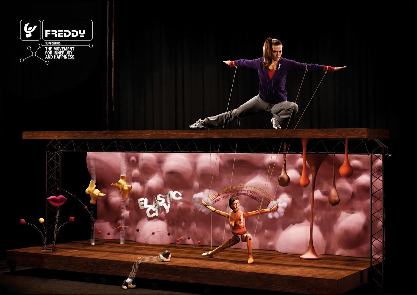 Freddy Print Ad -  One man theatre, 2