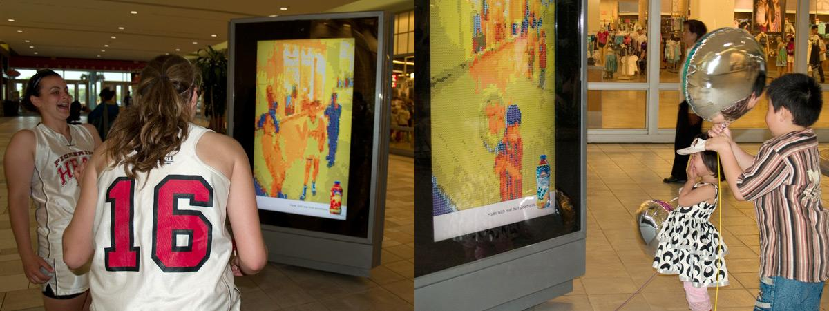 Sun-Rype Ambient Ad -  Fruitify yourself