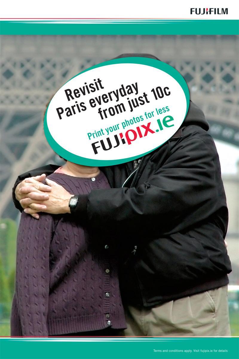 Fuji Outdoor Ad -  Paris