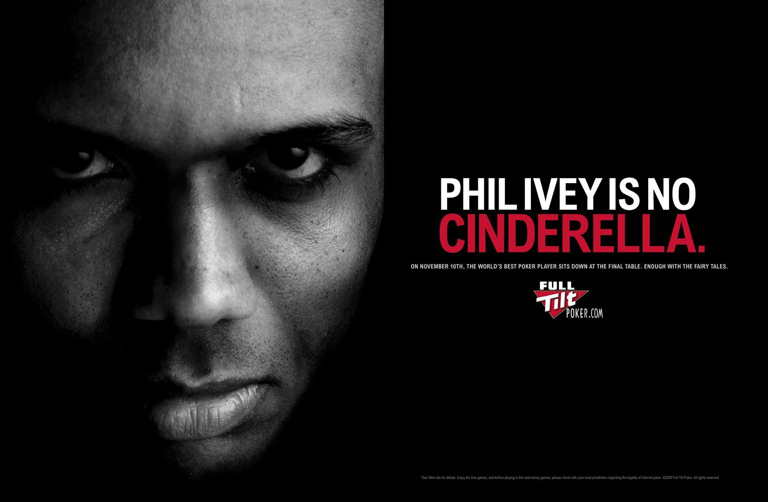 Full Tilt Poker Print Ad -  Anti Cinderella