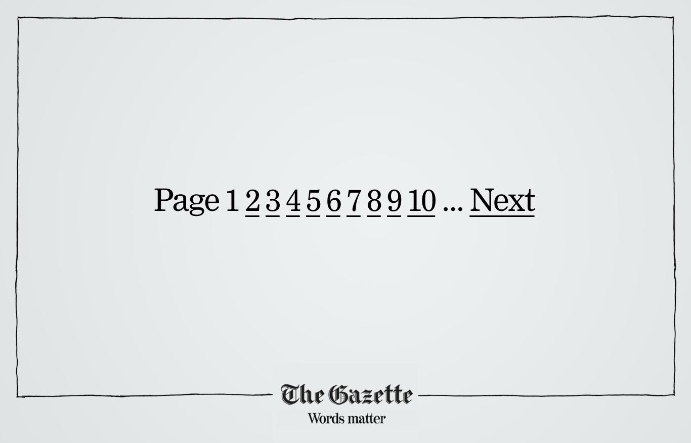 The Gazette Print Ad -  Page