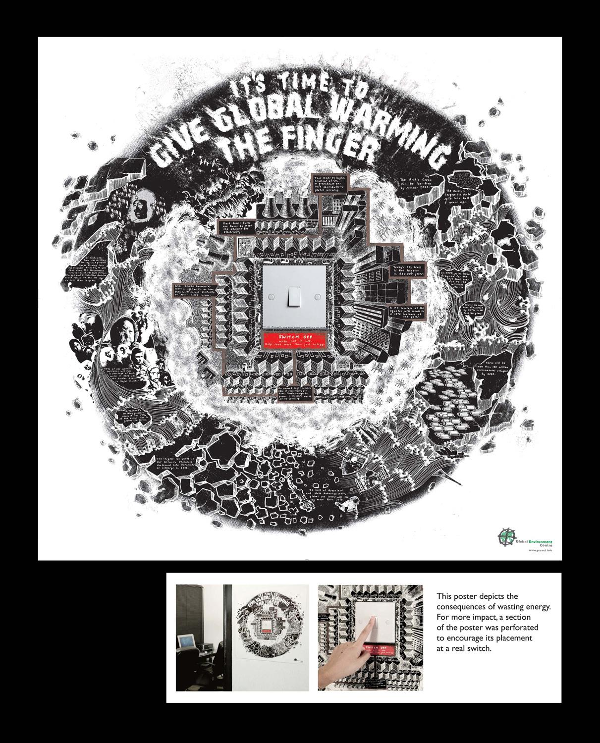 Global Environment Centre Ambient Ad -  Switch