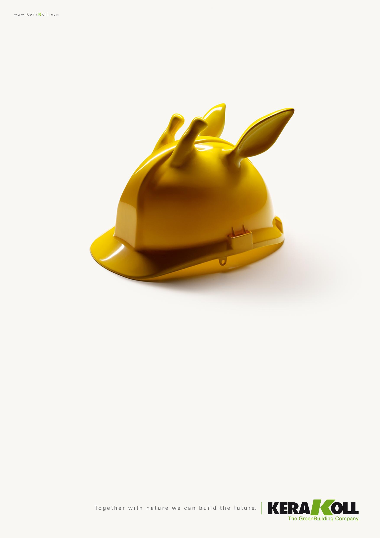 Kerakoll Print Ad -  Giraffe