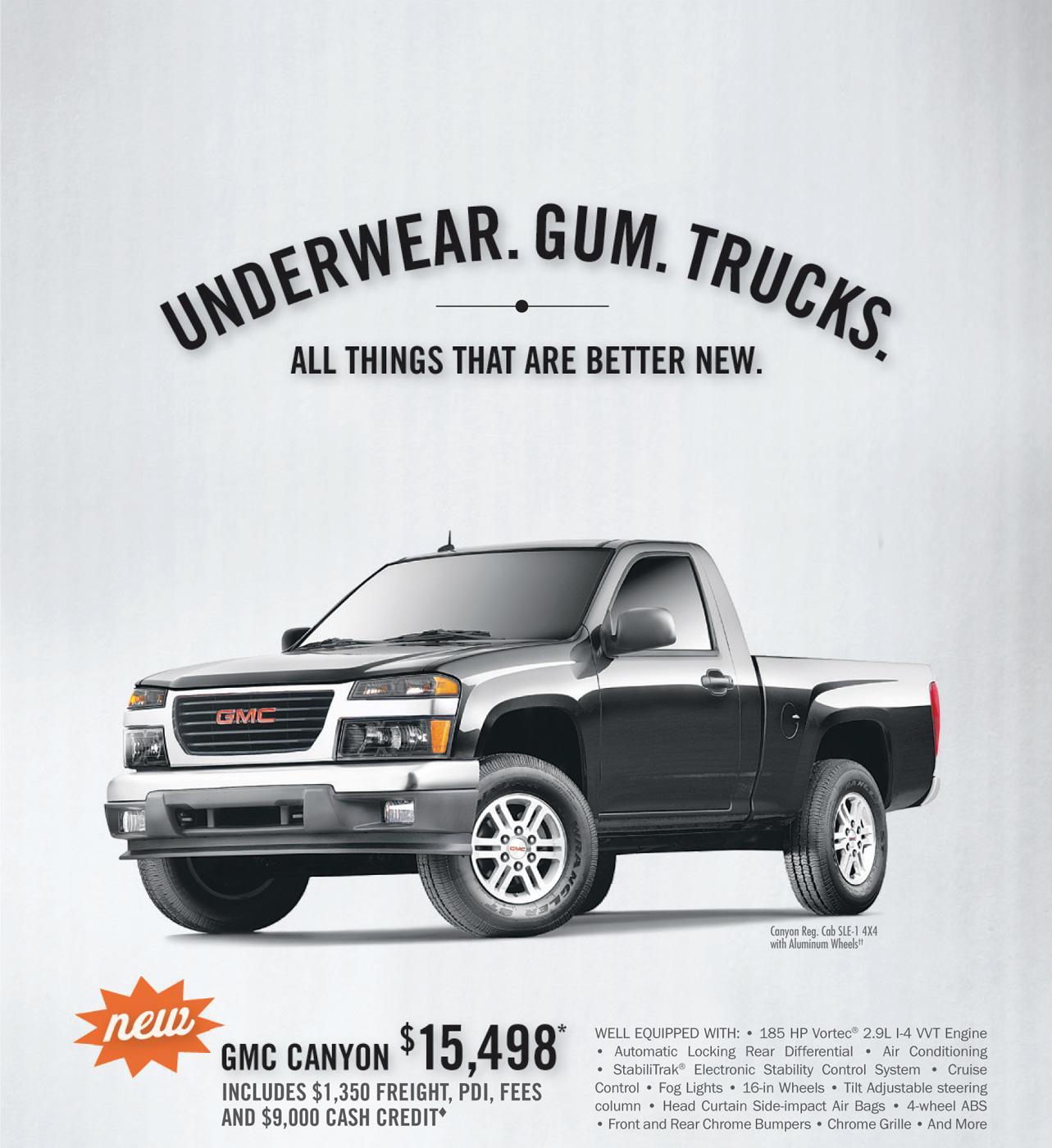 GMC Print Ad -  Better New