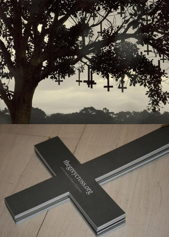 The Grey Cross Ambient Ad -