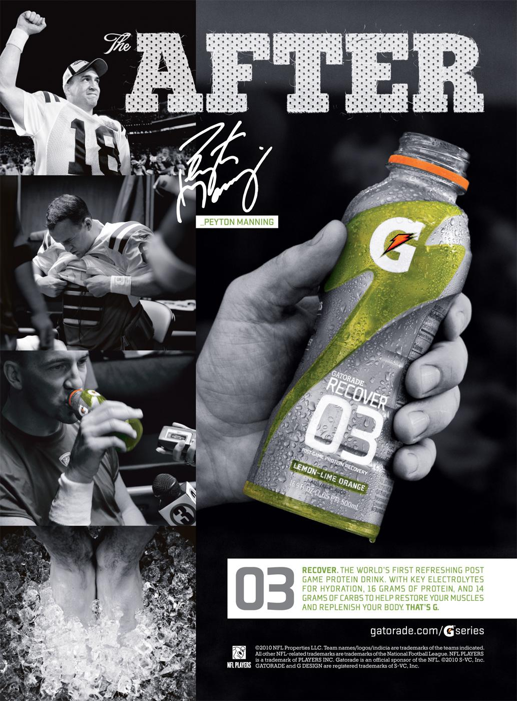 Gatorade Print Ad -  After