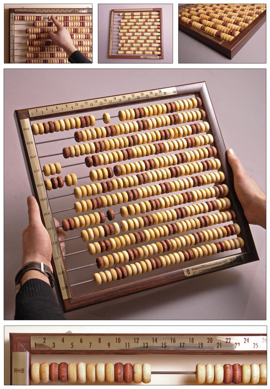 Calendar-abacus