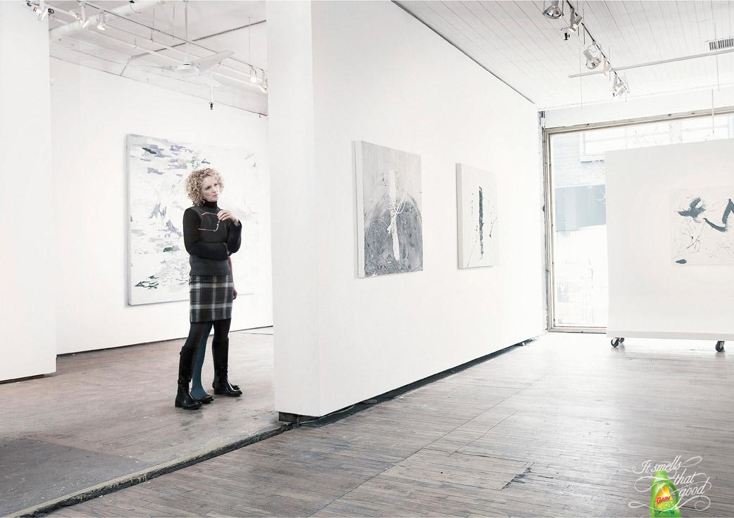 Gain Print Ad -  Gallery