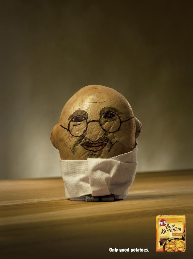 Potatoheads, Gandhi