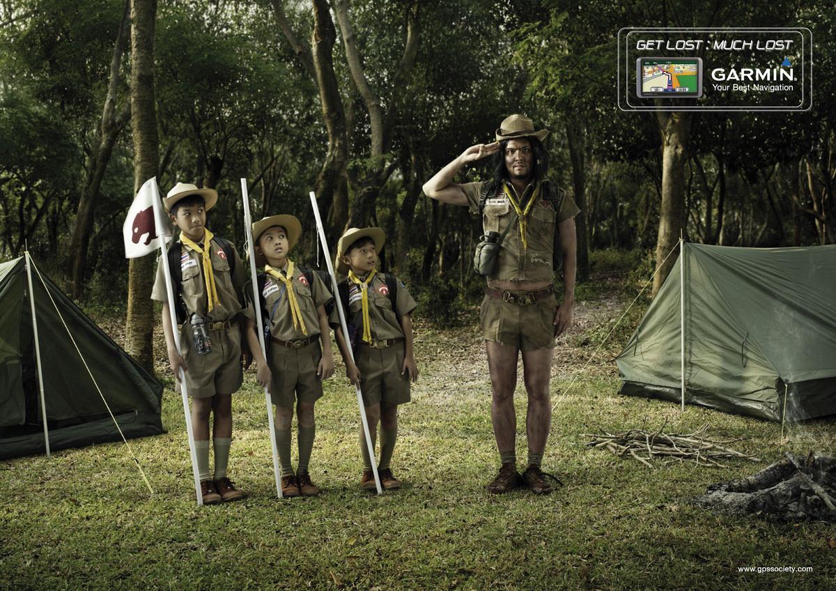 Garmin Print Ad -  Scouts