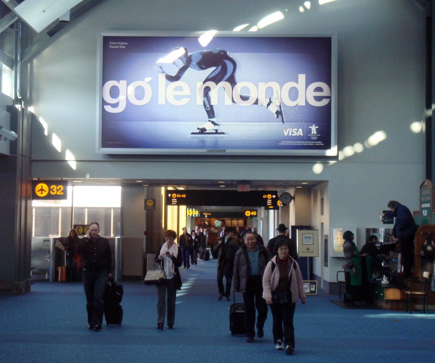 Visa Outdoor Ad -  Go World, Go le monde