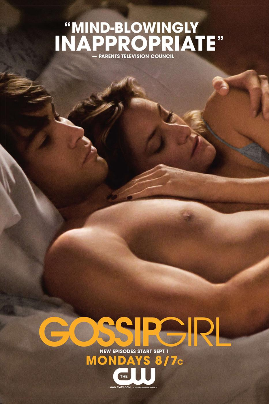 Gossip Girl Print Ad -  Inappropriate