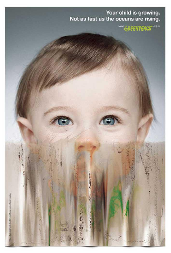 Greenpeace Print Ad -  Growing, 2