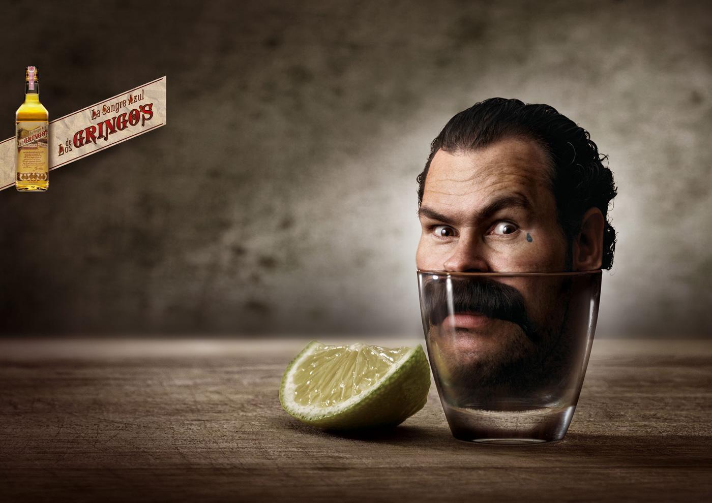 Gringo's Tequila Print Ad -  El Matador Peligroso