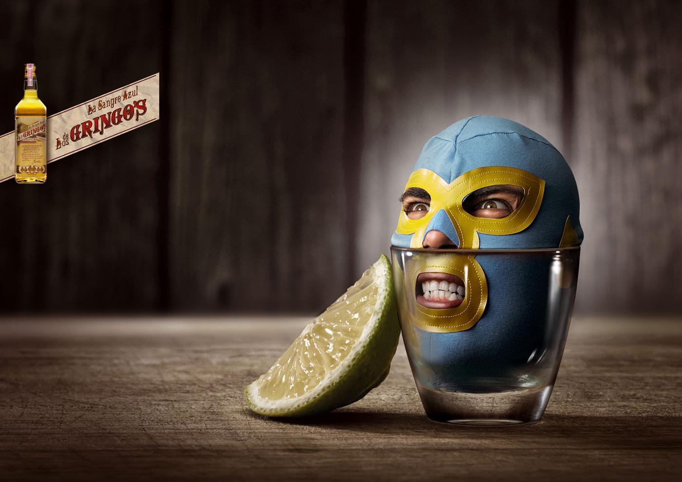 Gringo's Tequila Print Ad -  Jésus