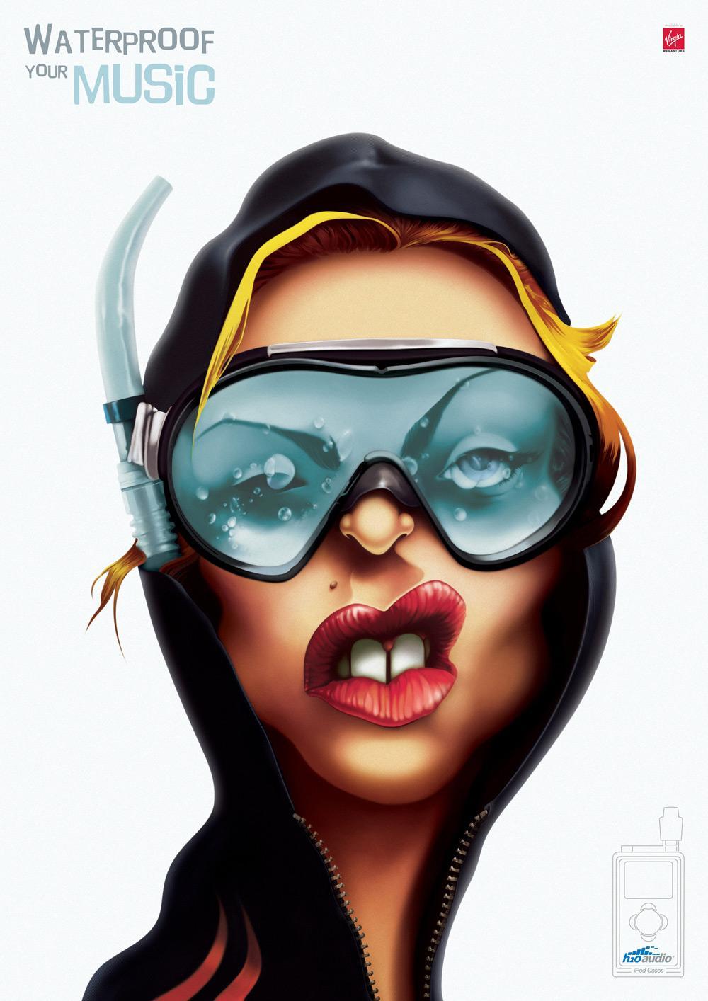 H2O Print Ad -  Madonna
