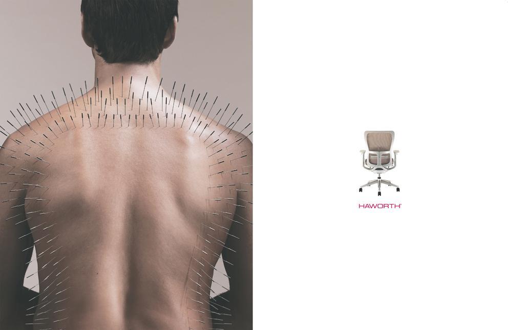 Haworth Print Ad -  Acupuncture