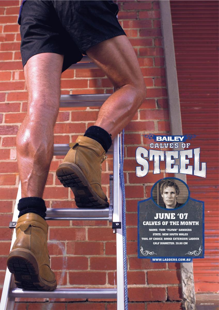 Calves of steel, 2