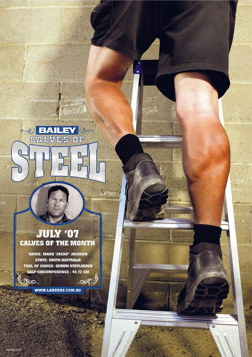 Calves of steel, 3