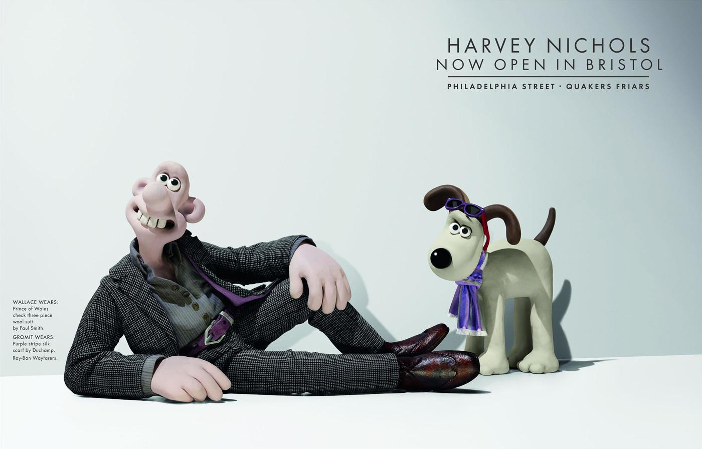 Harvey Nichols Print Ad -  Wallace, 1