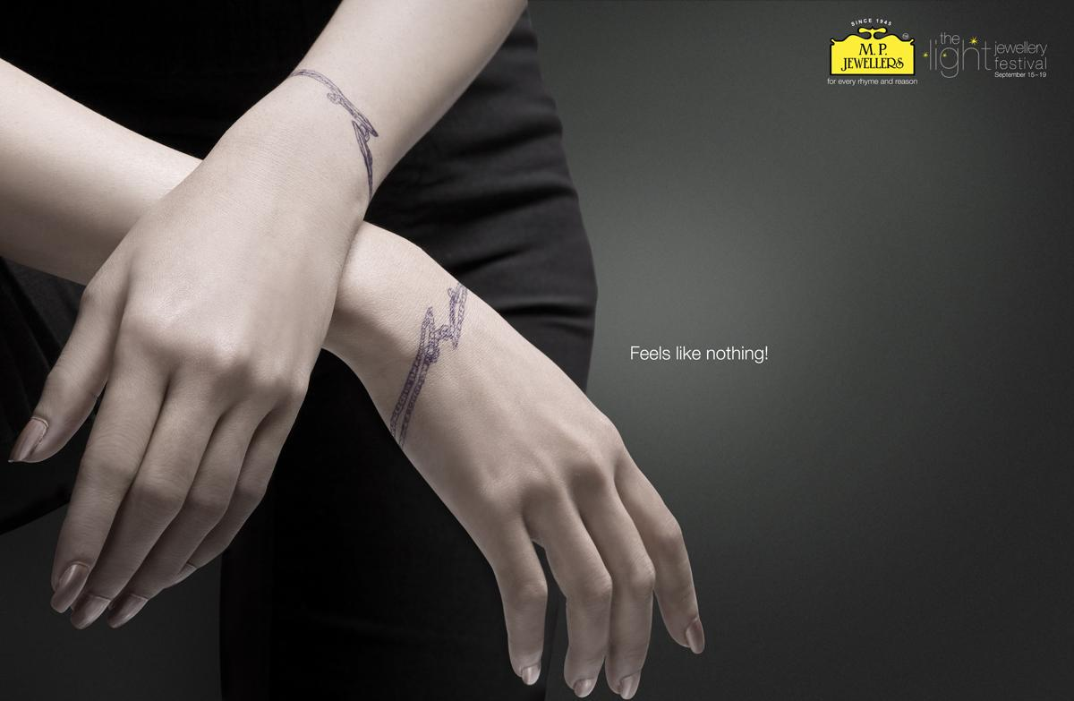 MP Jewellers Print Ad -  Hands