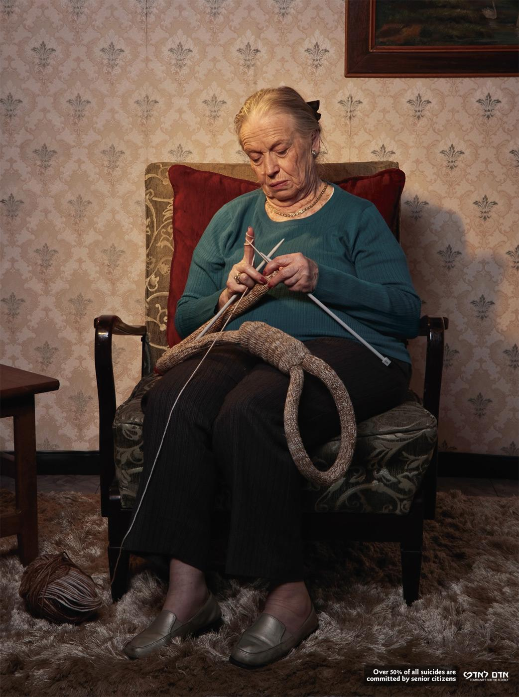 Adam Le Adam Print Ad -  Hangman's noose