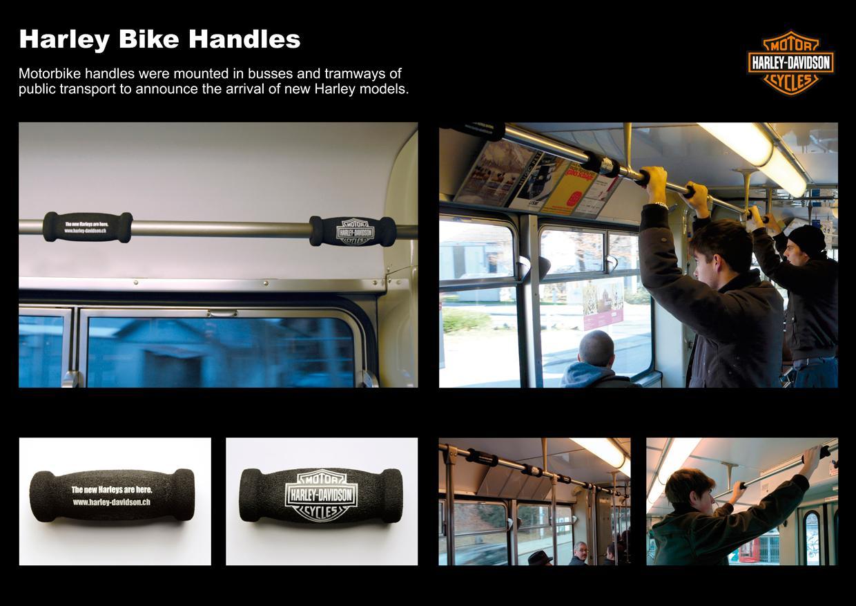 Harley-Davidson Ambient Ad -  Handles
