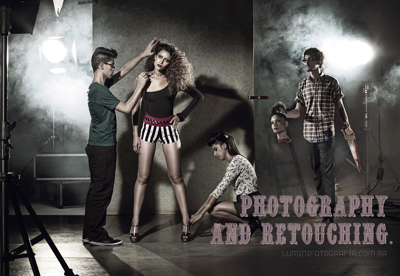 Lumini Fotografia Print Ad -  Head