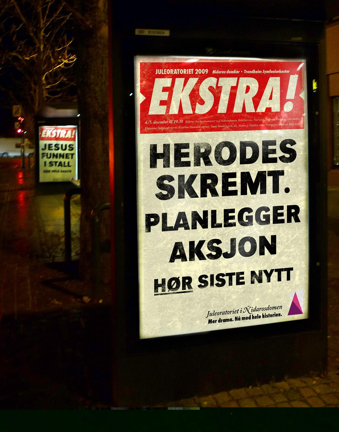 The Christmas Oratory Print Ad -  Herodes