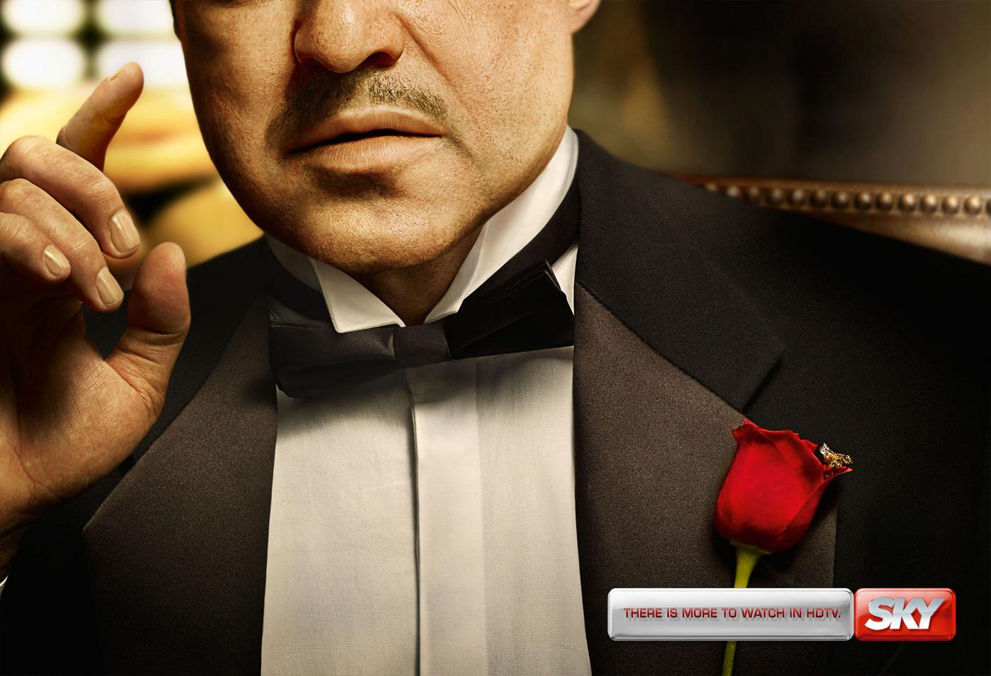 SKY Print Ad -  The Godfather