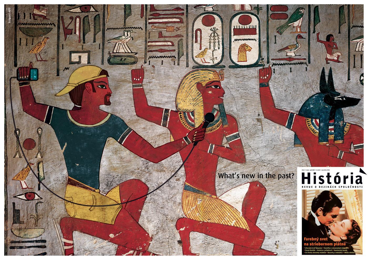 Magazine Historia Print Ad -  Egypt