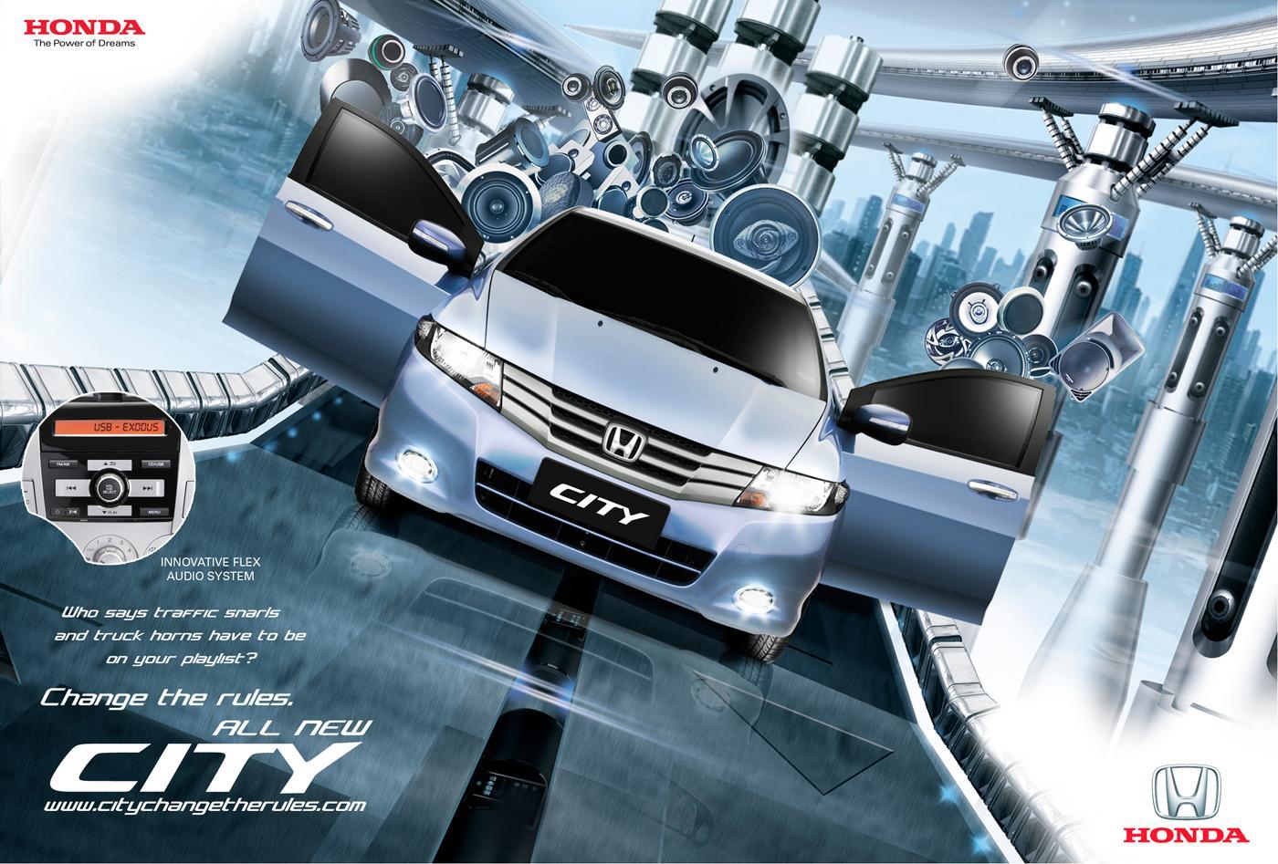 Honda Print Ad -  Change the rules, 4