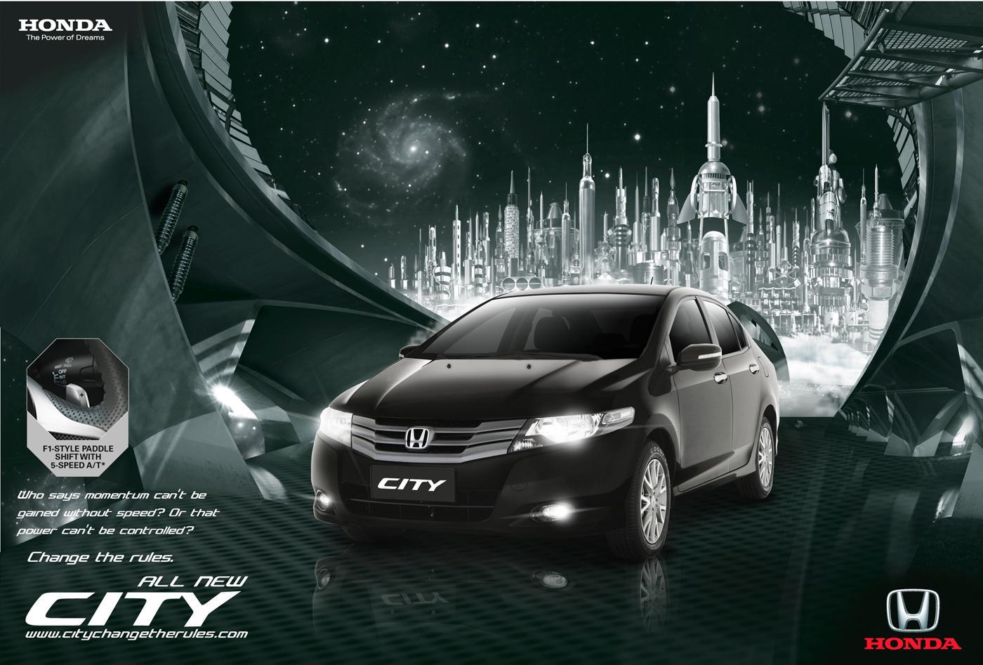 Honda Print Ad -  Change the rules, 5