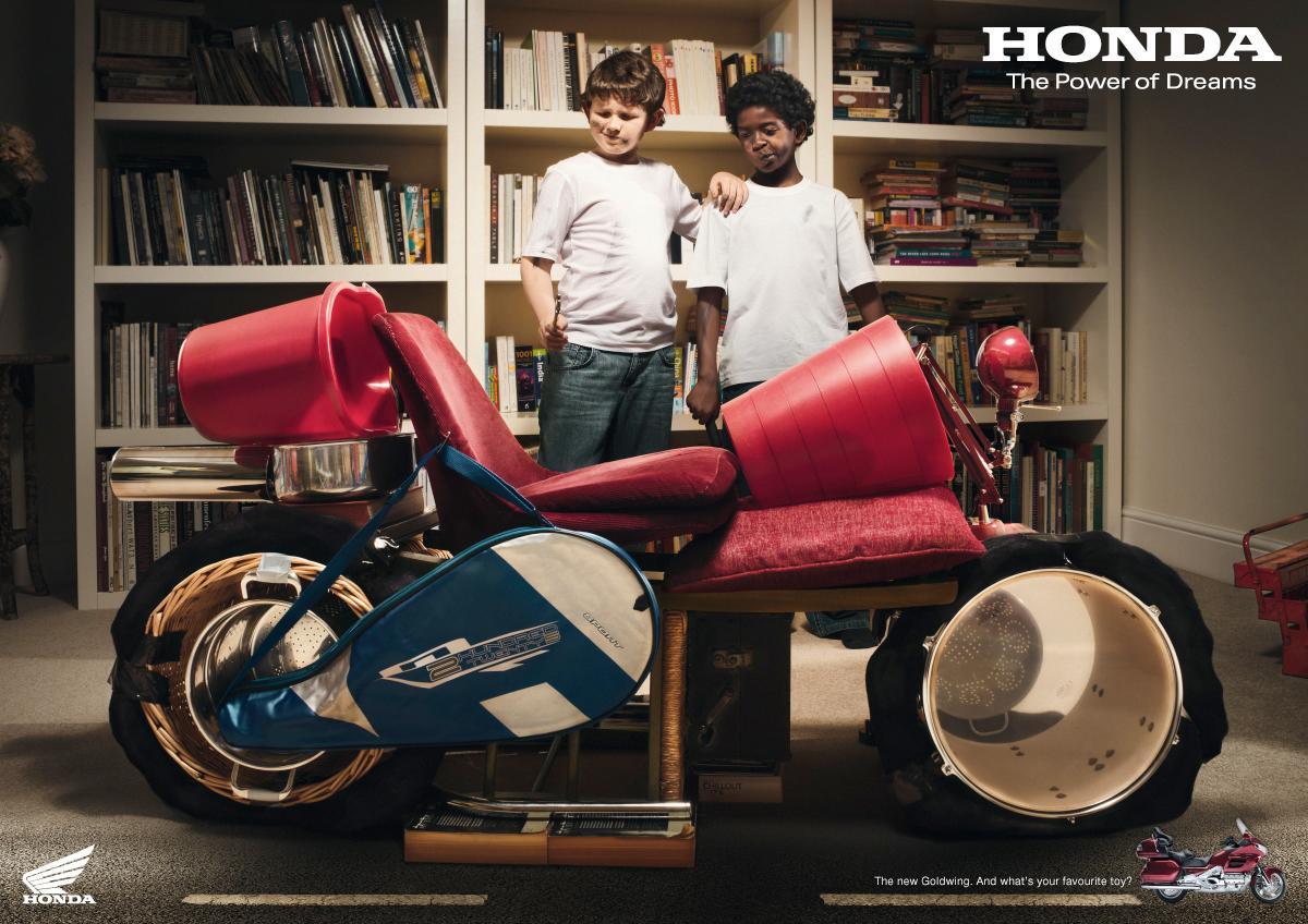 Honda Print Ad -  Toy