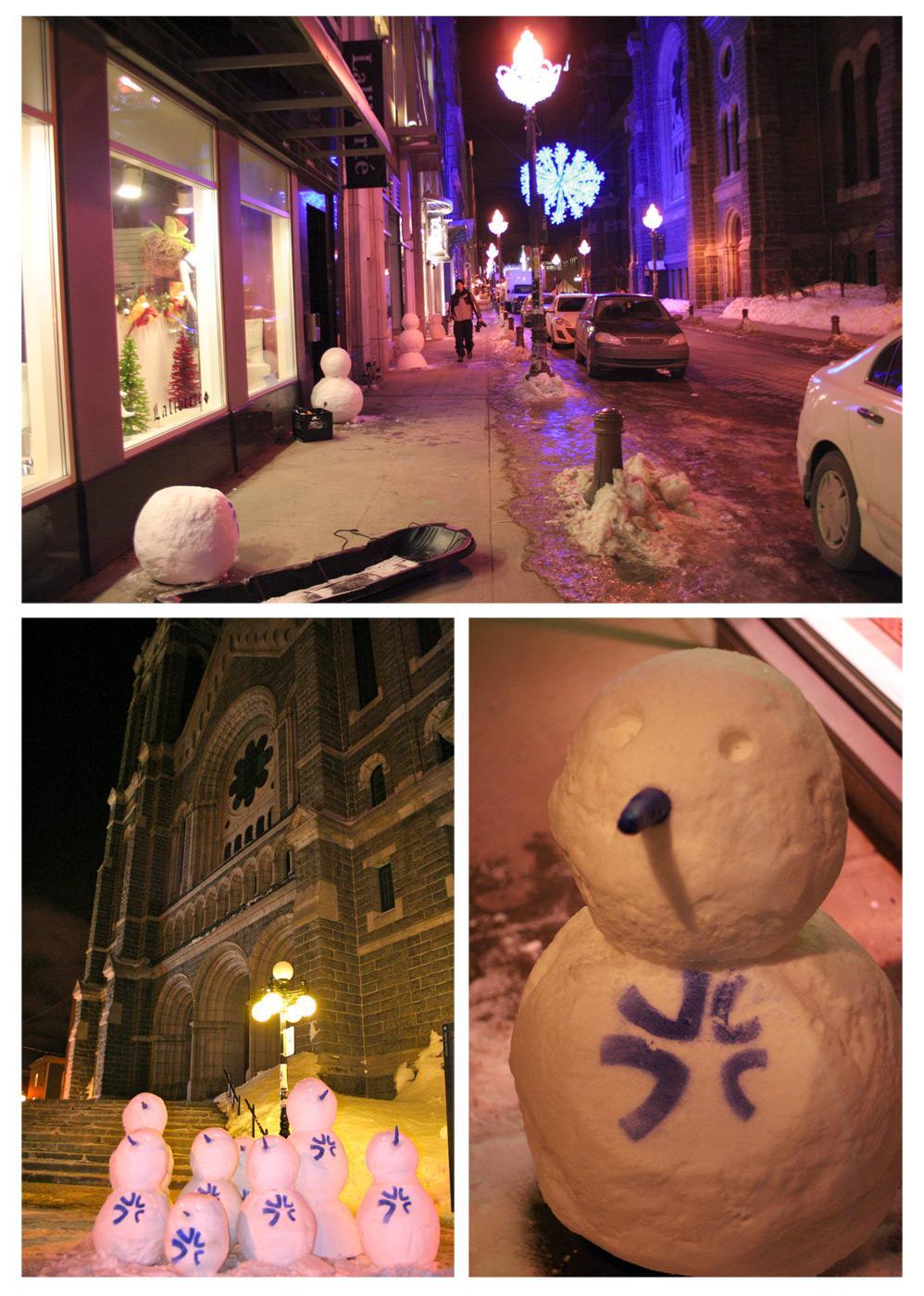 Hôtel de Glace:  Frozen messengers