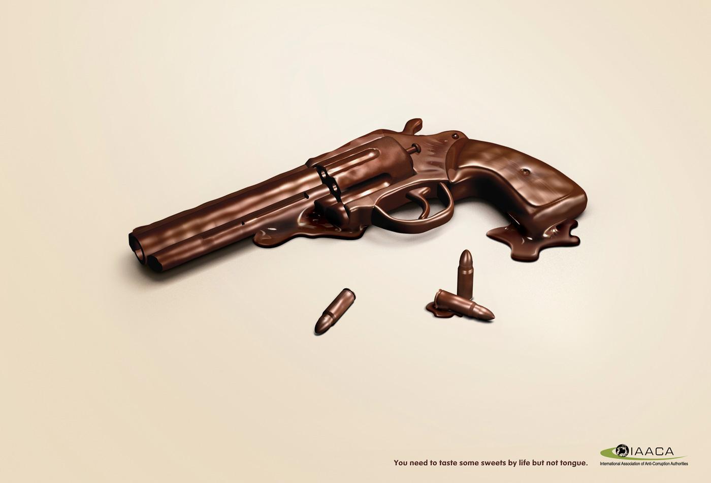IAACA Print Ad -  Gun