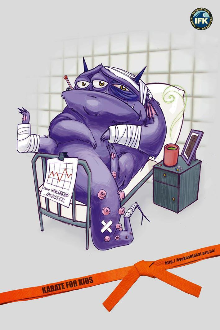 Wardrobe monster