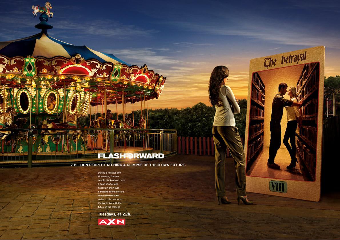FlashForward Print Ad -  The Betrayal