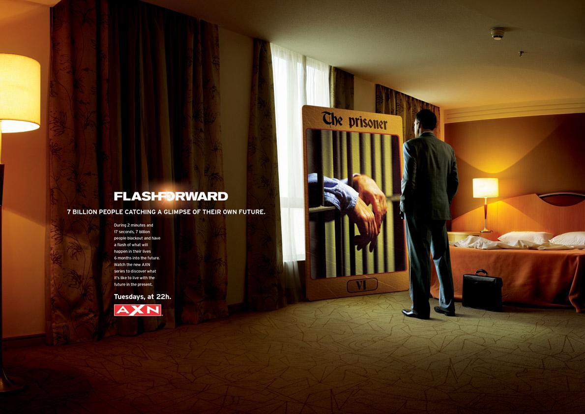 FlashForward Print Ad -  The Prisoner