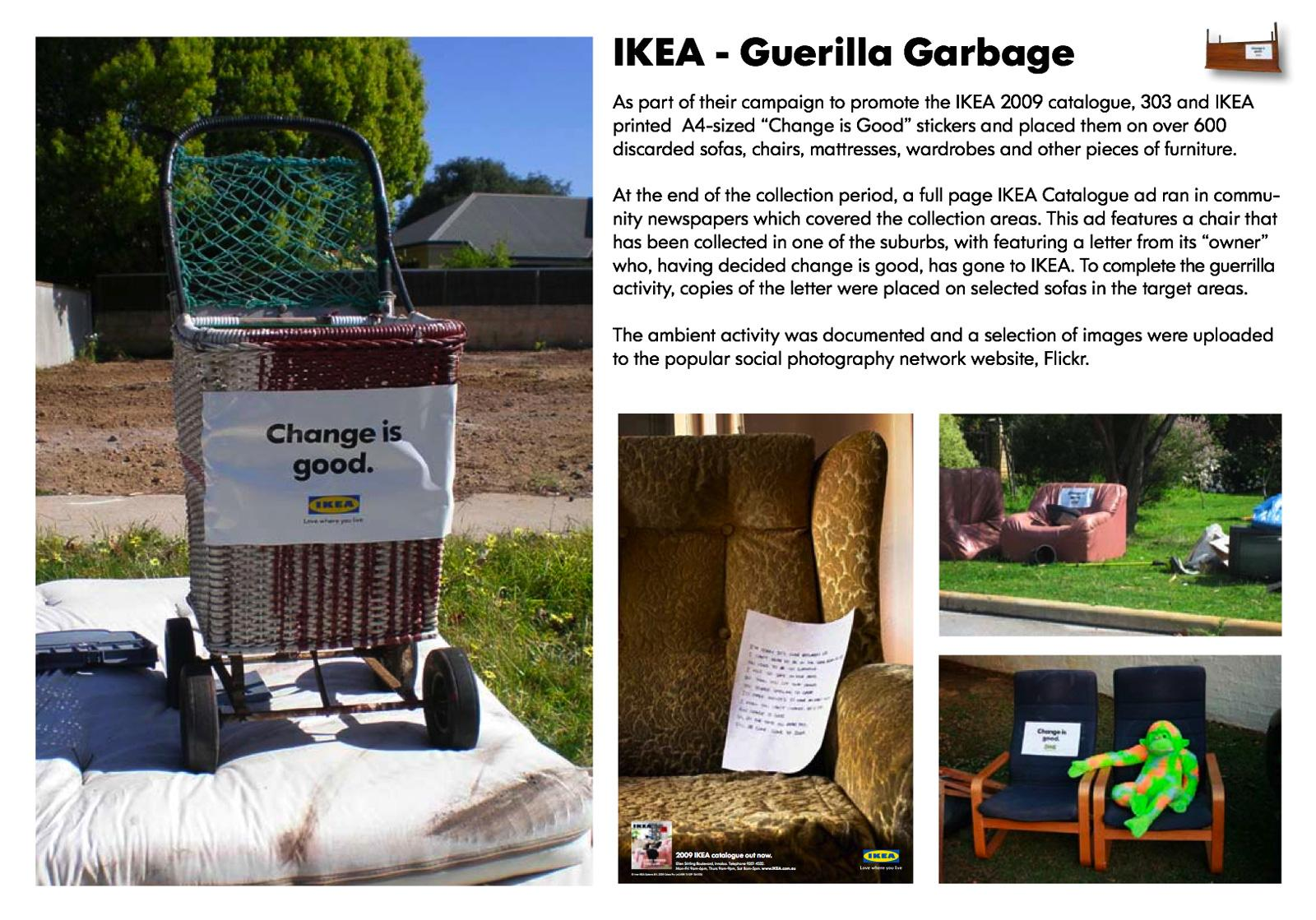 IKEA Ambient Ad -  Garbage