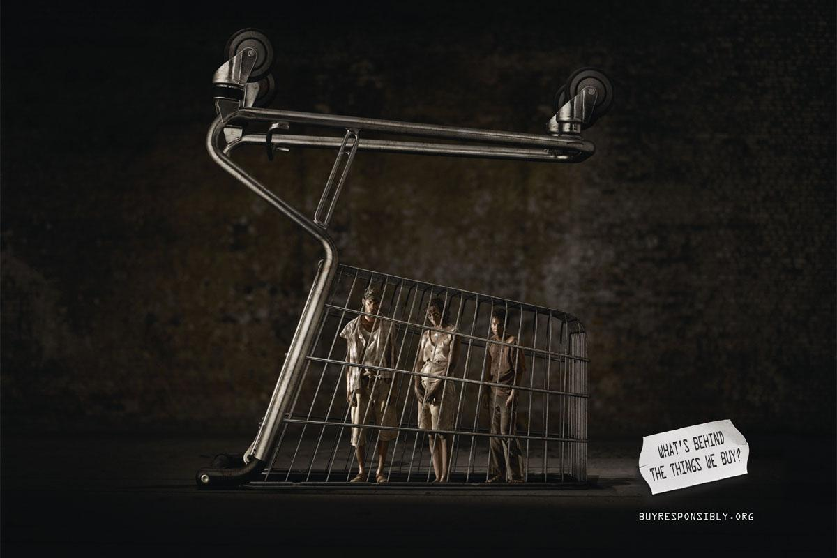 IOM Print Ad -  Shopping cart
