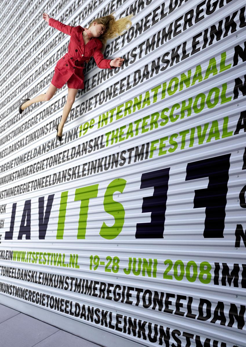 International Theater School Festival Print Ad -  Wall, 2