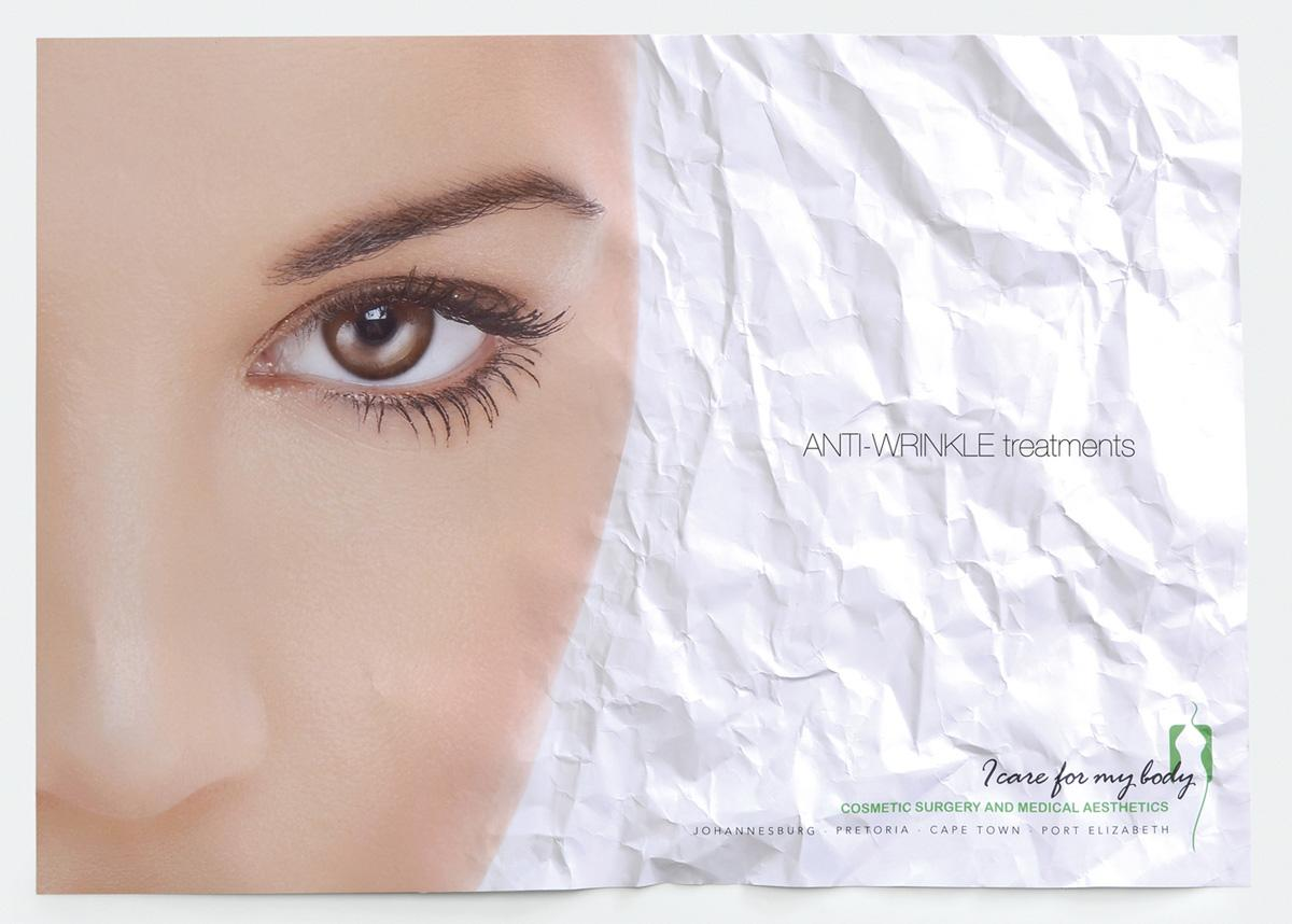 I care for my body Ambient Ad -  Anti-wrinkle treatments