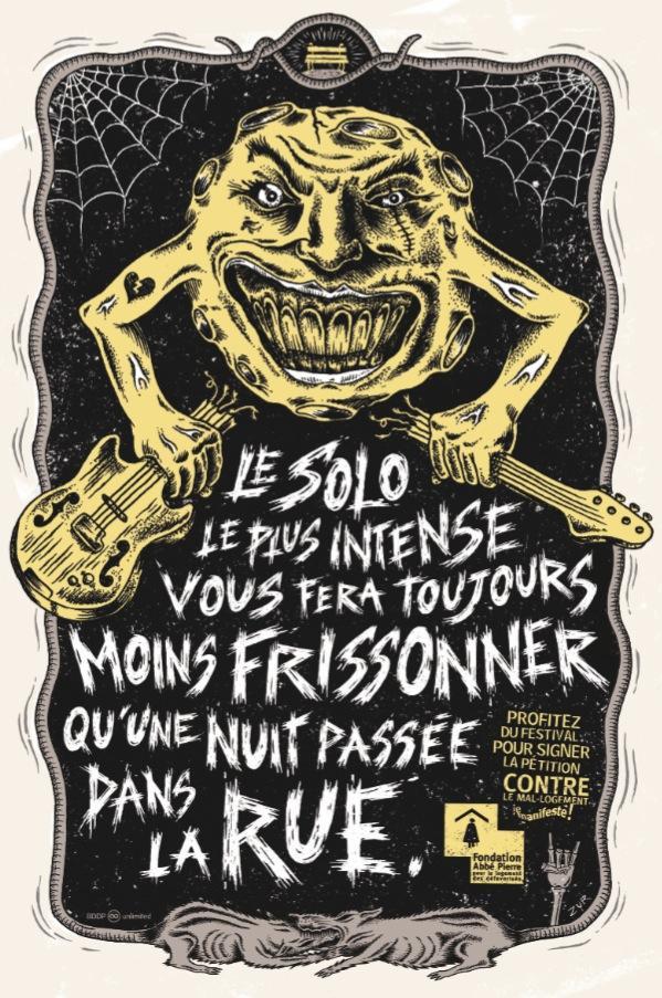 Fondation Abbé Pierre Print Ad -  Rock on, 5
