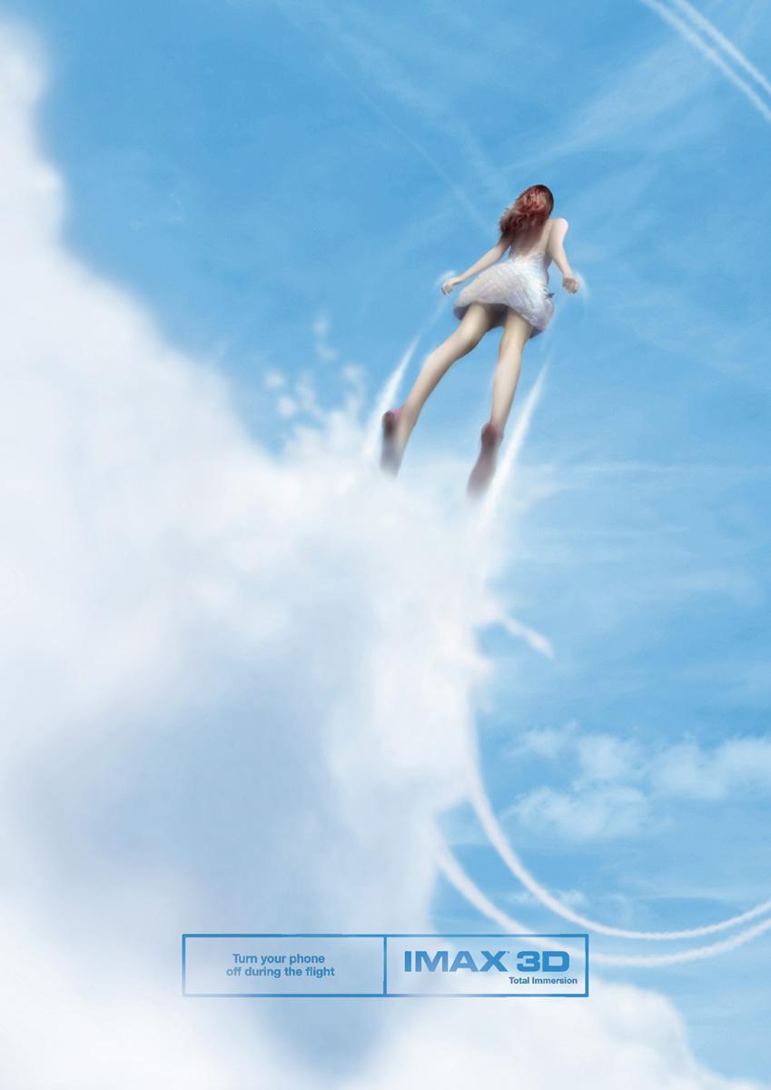IMAX Print Ad -  Flight