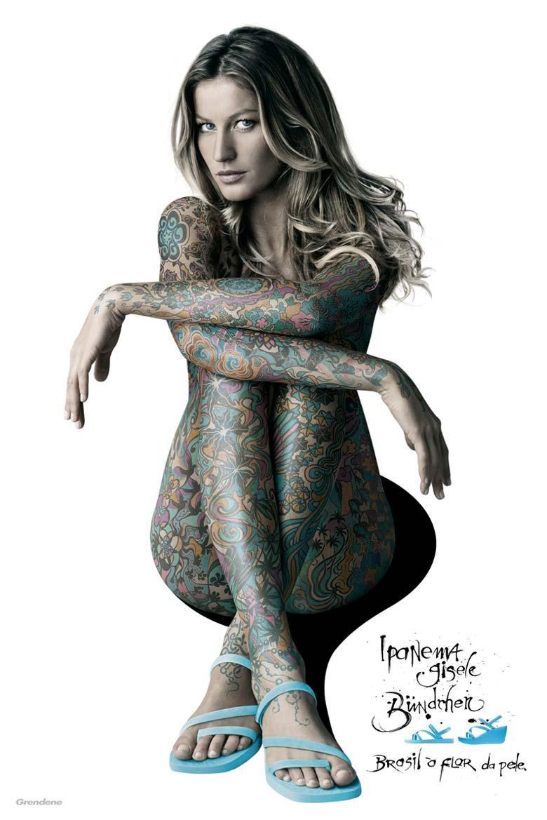 Ipanema Print Ad -  Tattoo, 1