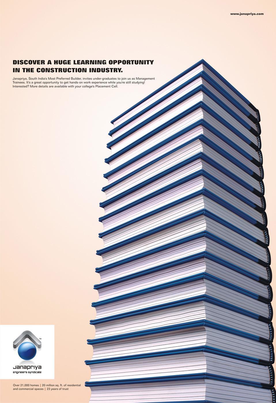 Janapriya Print Ad -  Building, 1