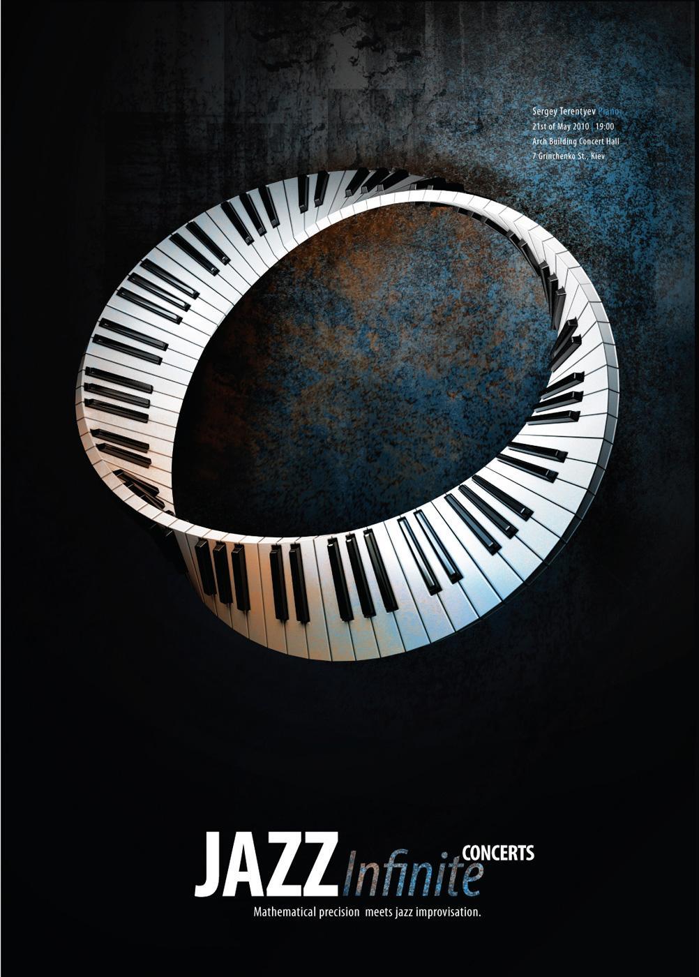 Jazz Infinite Print Ad -  Cross Cap